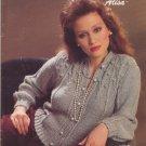 Bernat 1984 Handicrafter No.535 Knitting Pattern Booklet Alisa - Sweater Pattern