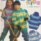 Bernat Kids Knitting Pattern Booklet #1280