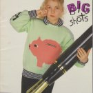 Bouquet Big Shots Knitting Pattern Booklet #1211 - 6 Designs