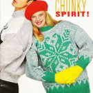 Bouquet Knitting Pattern Book #1210 Chunky Spirit Chunky Weight - 8 designs