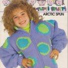 Bouquet Tutti Frutti Arctic Spun Bulky Weight Sweater Designs Pattern #1246