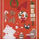 Bouquet Knit and Crochet Pattern #602 Seasons Greetings Christmas Gift Ideas