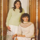 Bouquet Pattern #437 to Knit Ladies Floss Mohair Sweaters