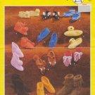 Bouquet Knit & Crochet Pattern #388 Children's Slippers