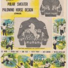 Bouquet Polar Sweater Palomino Design Graph Style Knitting Pattern #21