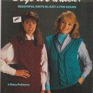 Boye it's Quick Boye Knitting Pattern #7401