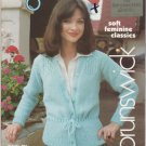 Brunswick 1977 Knitting/Crochet Pattern Book Volume 783 The Eleganza Collection