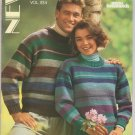 Brunswick New Classics Vol.854 Knitting Pattern Book