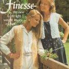 Brunswick Fashion Knitting in Finesse 1982 Pattern Vol.820