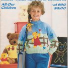 Brunswick 1989 Knitting Pattern Booklet Vol. 896 All Our Children