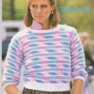 Brunswick 1983 Knitting Pattern Leaflet Volume 849 to Knit Pullover Sweaters