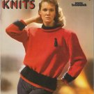 Brunswick Vintage 1986 Knitting Pattern Colorful Knits Vol.860