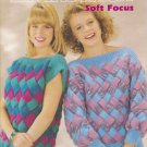Brunswick Soft Focus 1988 Knitting Pattern Booklet Volume 8813