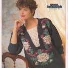 Yarns Brunswick 1991 Ribbons and Roses Sweater Knitting Pattern Volume 917