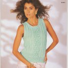 Copley 1987 Knitting Pattern #7045 To Knit Nile Pattern Slipover