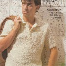 Emu Coolspun Knitting Pattern#4885 to knit Sports Shirt in sizes 26 to 44 inches
