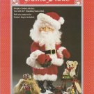 Fibre Craft 1993 Crochet Pattern No.FCM256 Santa Claus Crochet Doll Pattern
