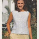 Hayfield Boat Neck Top Knitting Pattern #00698