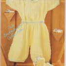 Hayfield Baby Outfit Knitting Pattern #2796