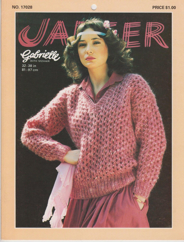 Jaeger 1978 Knitting Pattern No.17028