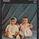King Knitting Pattern No.2030 Baby Set and Baby Jacket