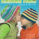 Leisure Arts Cabin Fever 2005 Kids' Knitted Hats 17 designs Pattern Book