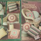 Leisure Arts 1989 Pattern Leaflet #838 Crocheted Pillows Book 3