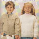 Leisure Arts Vintage 1988 Knitting Pattern #684 Owls & Bunnies