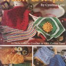 Leisure Arts 1994 Crochet Pattern Leaflet #2546 Wash & Wipe by Cynthia Lane