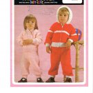 Lister- Lee Knitting Pattern #K1399 Baby's Jacket, Sweater and Trousers