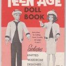 Mary Maxim Teenage Doll Book Vol.1 Knitting Patterns for 11-1/2 Inch Dolls