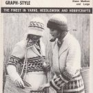 Mary Maxim Pattern No.6030 Crocheted Jacket and Hat