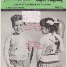 Mary Maxim Vintage Knitting Pattern No.616 Circus