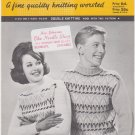 Mary Maxim No.836 Chippewa Vintage Double Knitting Pattern