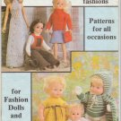 Mary Maxim 1979 Doll's fashions #7982 Knitting Pattern Booklet