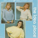Mary Maxim Knitting & Crochet Pattern Leaflet No. 1270 The Royale Book