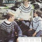 Marnel Classic Knitting Pattern #K116 Pattern Sizes to fit Men, Women, Children