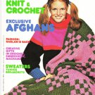 Mon Tricot Knit & Crochet Magazine #MD53 Feb-Mar 1978 Issue