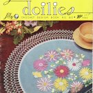 Lily Crochet Design Book No. 60 Table Doilies Vintage Pattern Book