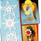 Patons 1983 Crochet Pattern Leaflet #1013 Christmas Crochet