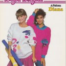 Patons Bright Delights 1985 Knitting Pattern #1041
