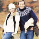 Patons Husky 1982 Knitting Pattern #1956
