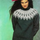 Patons Canadiana Tweeds Knitting Pattern #1093BB