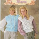 Patons 1984 Knitting Pattern #7476 Slipover and waistcoat