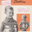 Patons Beehive Canadiana Honey Bears Knitting Pattern 2011
