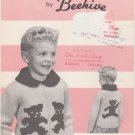 Patons Beehive Chieftain Teddy Bears Knitting Pattern #2016