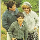 Patons 1978 Go-Getters Knitting Pattern #1560