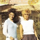 Patons Cotton Top Pattern 7116 to knit Teens/Womans V & round Neck Slipovers