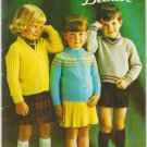 Patons Beehive Knitting Pattern Book #110 Pre-School Fashions for sizes 1 to 6