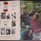 Patons Beehive Children's Fashions for Sizes 6 to 12 Knitting Pattern Book #116